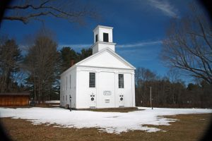 Photo of historic Meeting House