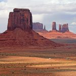 Photo of butte in Monument Valley, AZ